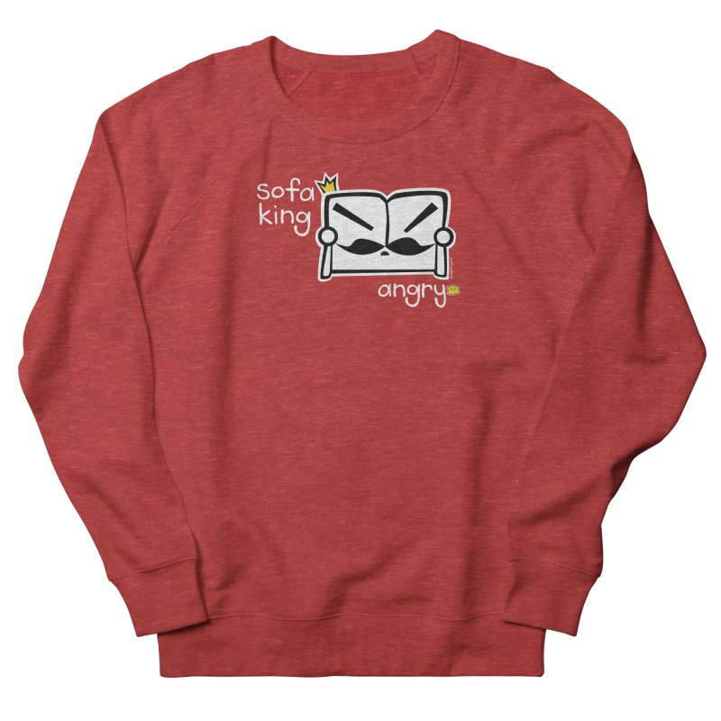 sofa king angry   by super good clothing @ threadless!