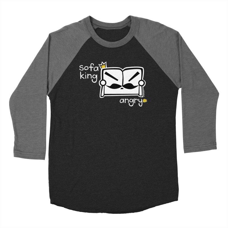 sofa king angry Women's Baseball Triblend T-Shirt by super good clothing @ threadless!