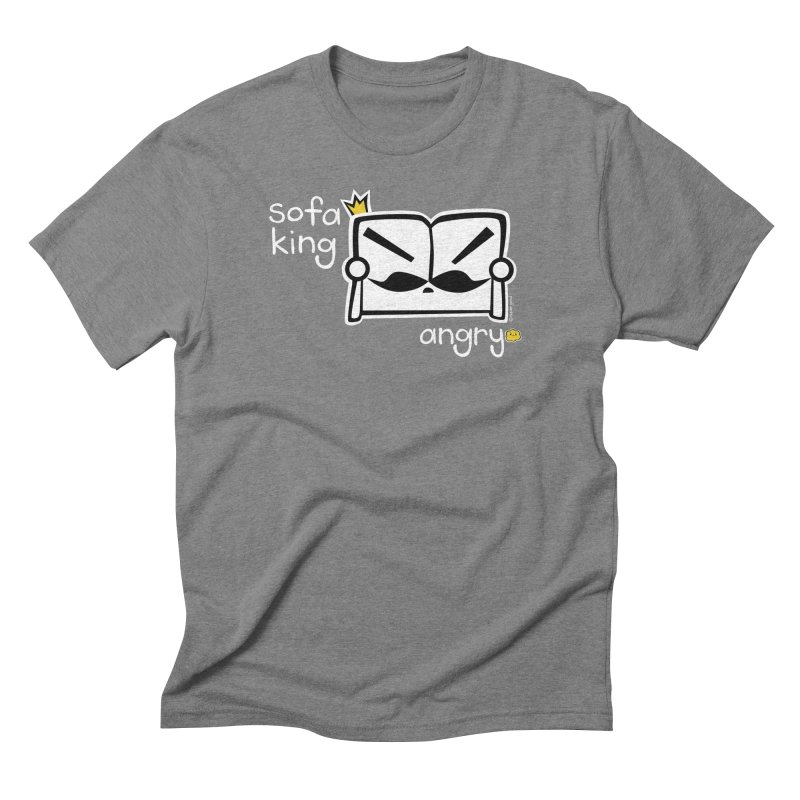 sofa king angry Men's Triblend T-shirt by super good clothing @ threadless!