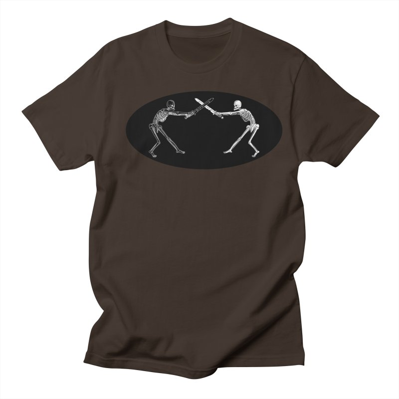 Crossed Swords Men's T-Shirt by Superhero Necromancer Press