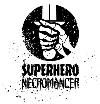 Superhero Necromancer Press Logo
