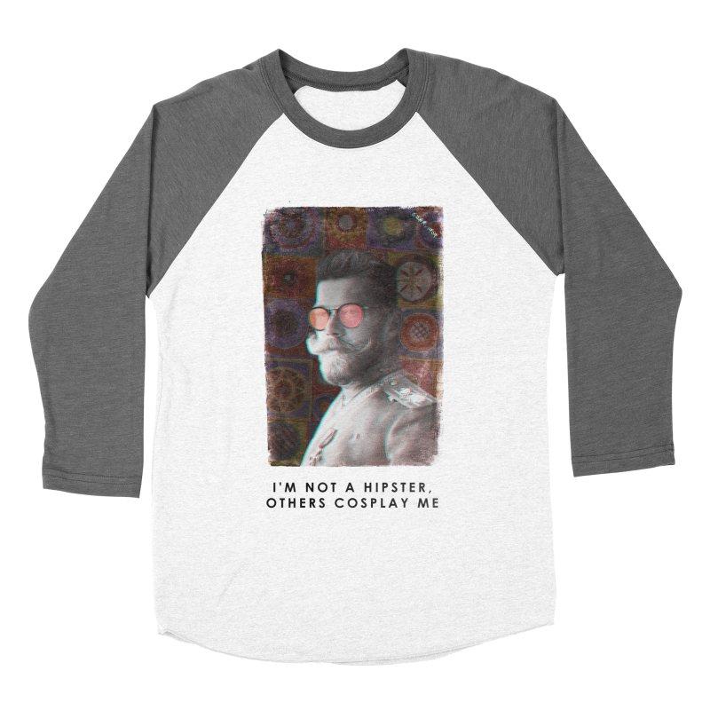 Emperor 1909 Men's Baseball Triblend T-Shirt by superivan's Strange Wear