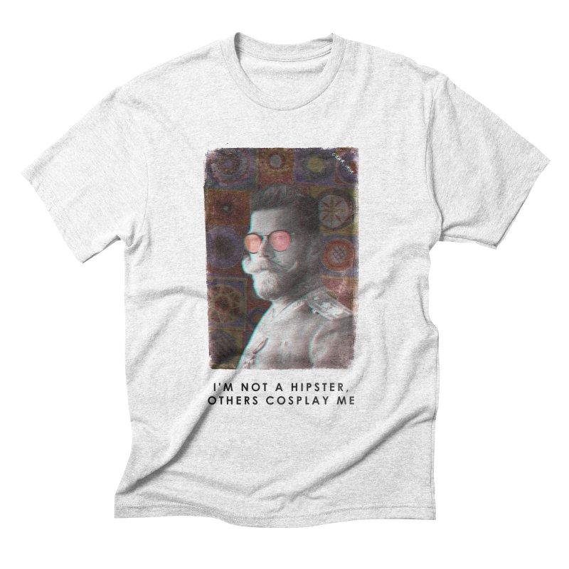 Emperor 1909 Men's Triblend T-shirt by superivan's Strange Wear