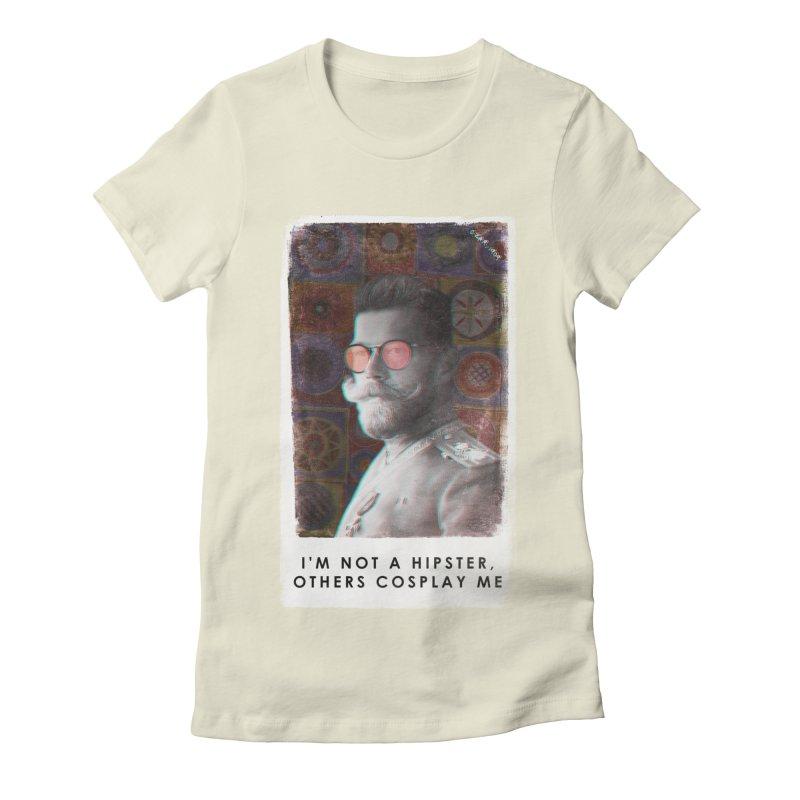 Emperor 1909 Women's Fitted T-Shirt by superivan's Strange Wear