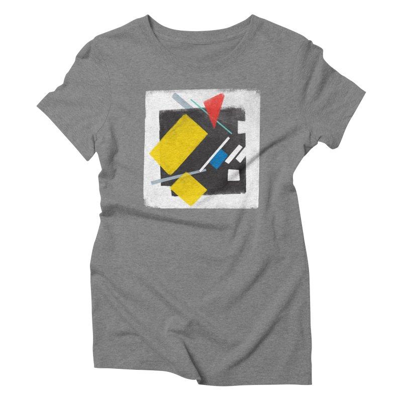 City Women's Triblend T-Shirt by superivan's Strange Wear