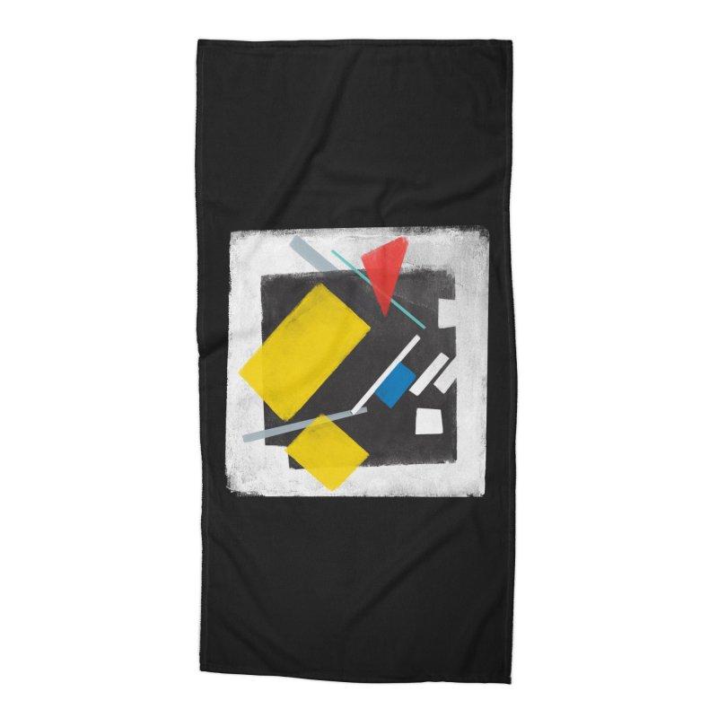 City Accessories Beach Towel by superivan's Strange Wear