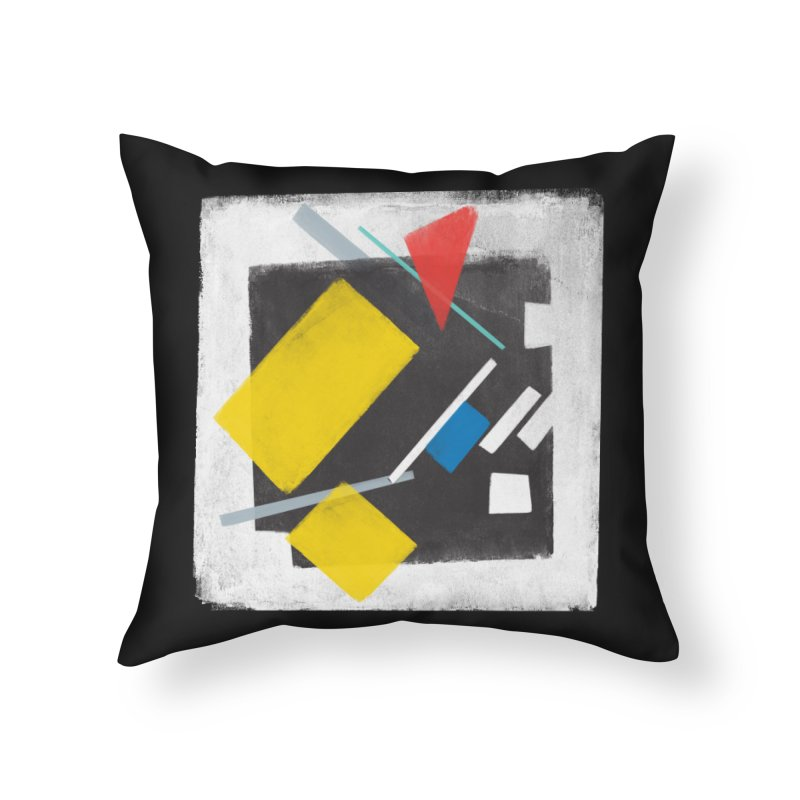 City Home Throw Pillow by superivan's Strange Wear