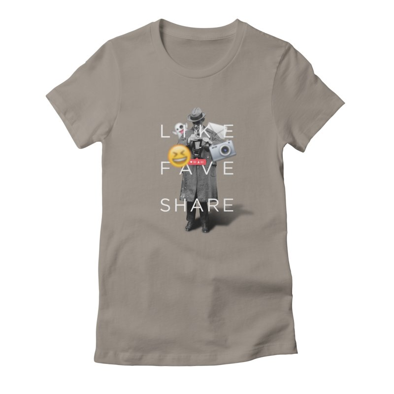 Everyday Life Women's Fitted T-Shirt by superivan's Strange Wear