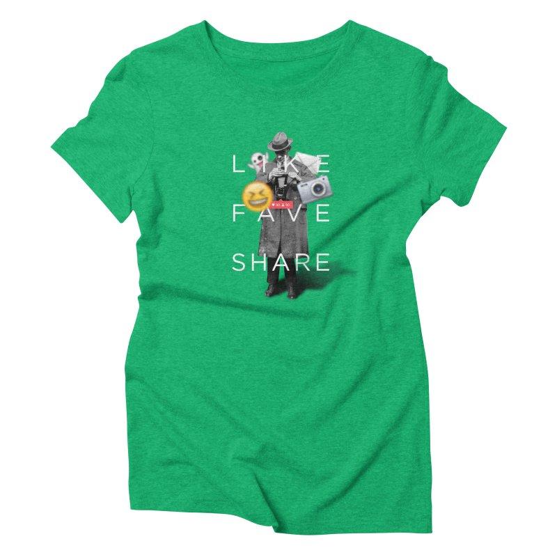 Everyday Life Women's Triblend T-Shirt by superivan's Strange Wear