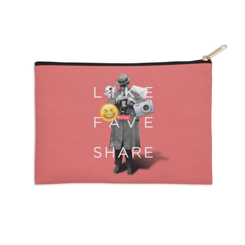 Everyday Life Accessories Zip Pouch by superivan's Strange Wear