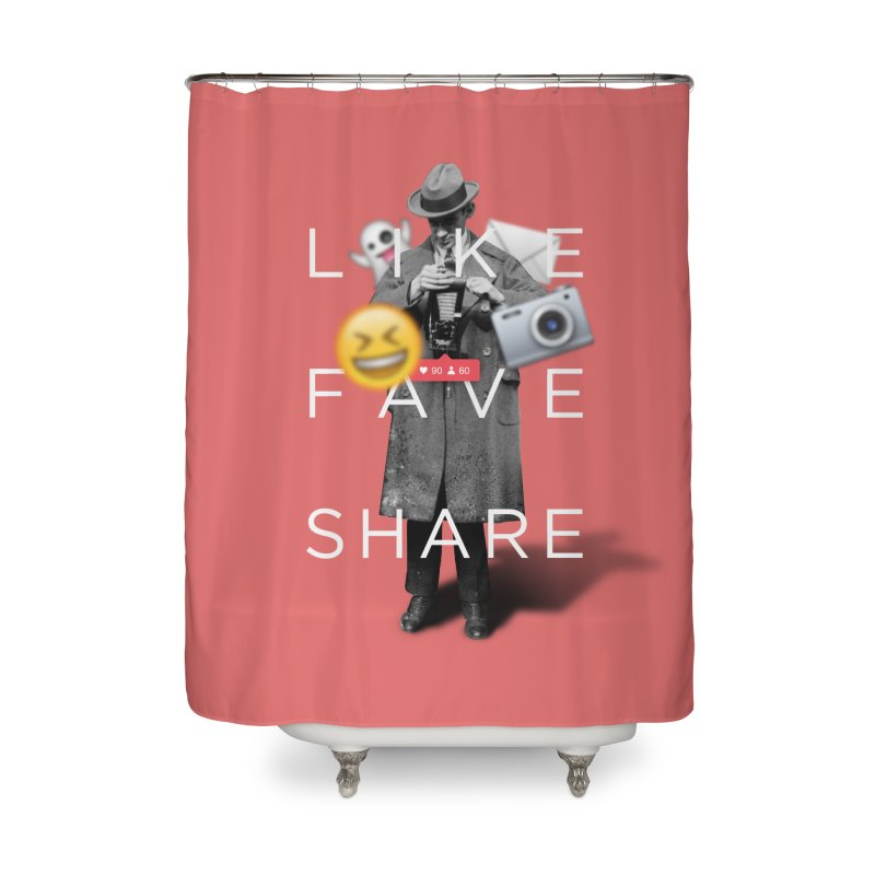 Everyday Life Home Shower Curtain by superivan's Strange Wear