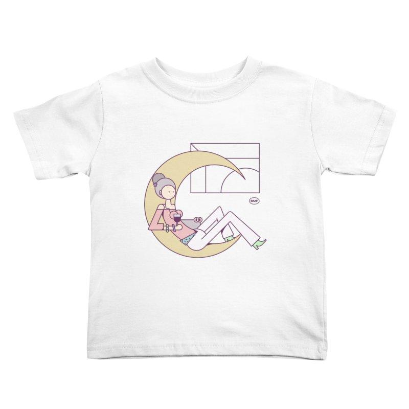 C girl Kids Toddler T-Shirt by Super Magic Friend Store