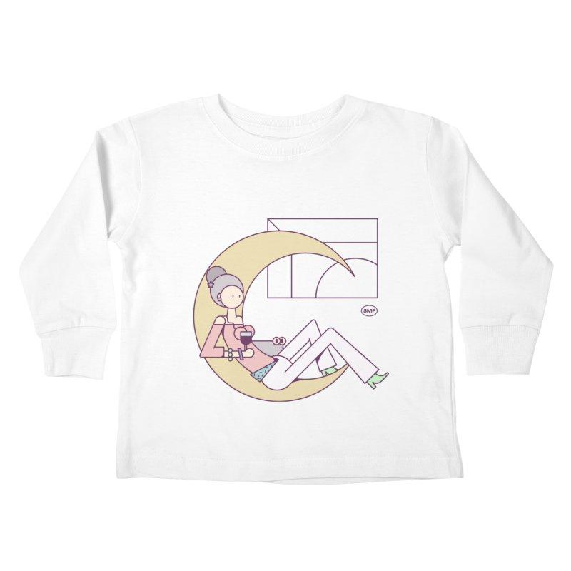 C girl Kids Toddler Longsleeve T-Shirt by Super Magic Friend Store