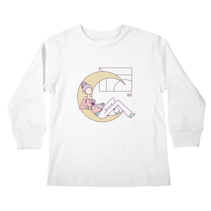 C girl Kids Longsleeve T-Shirt by Super Magic Friend Store