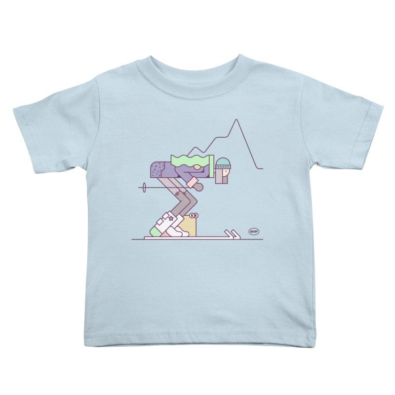 E girl Kids Toddler T-Shirt by Super Magic Friend Store