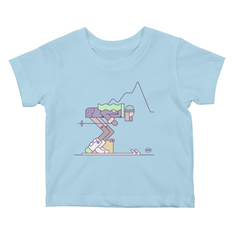 E girl Kids Baby T-Shirt by Super Magic Friend Store