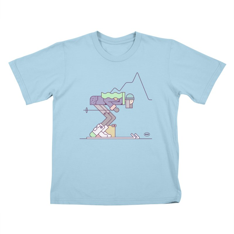 E girl Kids T-Shirt by Super Magic Friend Store