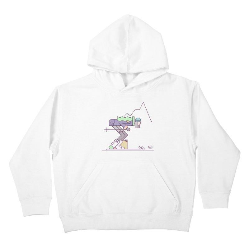 E girl Kids Pullover Hoody by Super Magic Friend Store