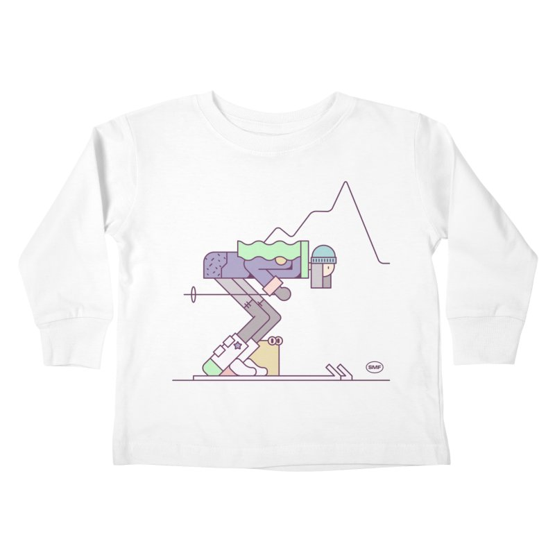 E girl Kids Toddler Longsleeve T-Shirt by Super Magic Friend Store