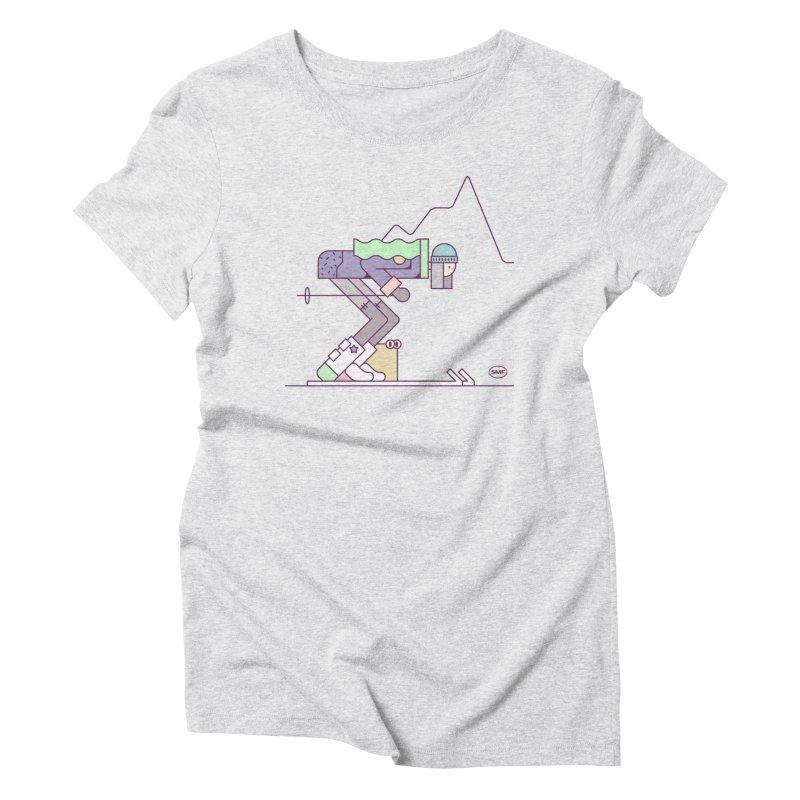 E girl Women's Triblend T-Shirt by Super Magic Friend Store