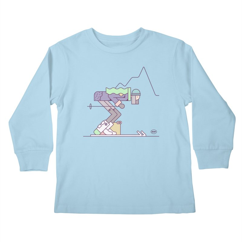 E girl Kids Longsleeve T-Shirt by Super Magic Friend Store