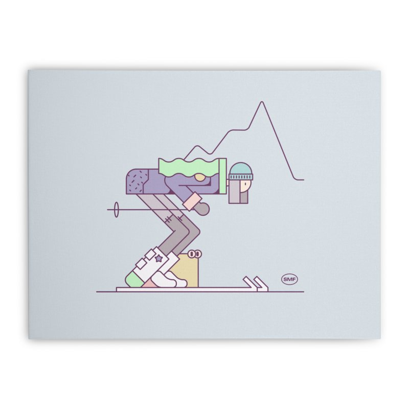 E girl Home Stretched Canvas by Super Magic Friend Store