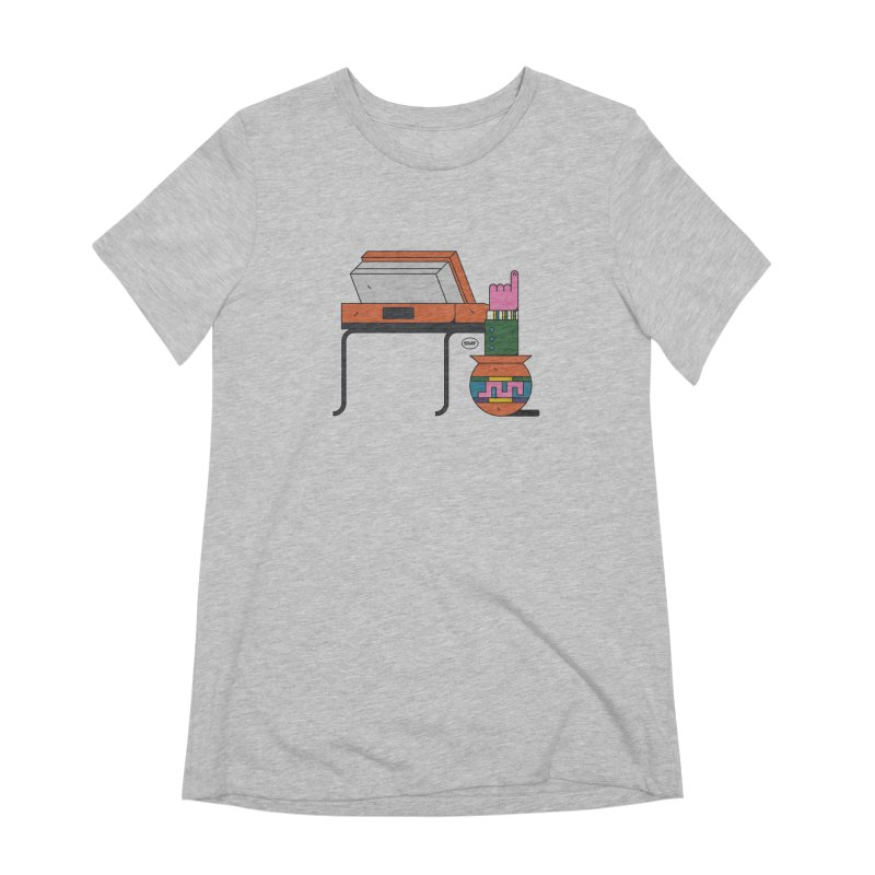 Model F(inger) Women's Extra Soft T-Shirt by Super Magic Friend Store