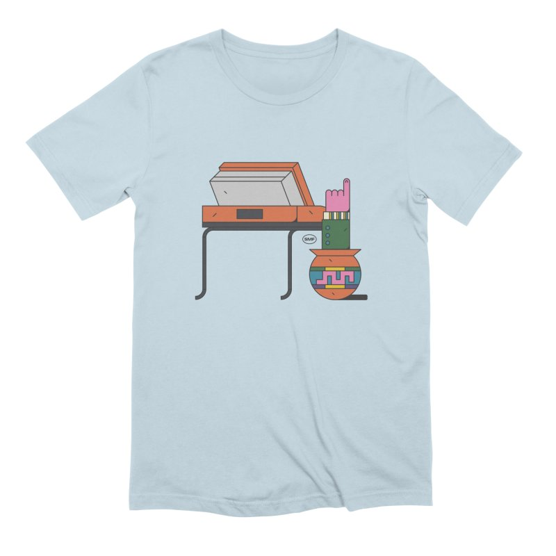 Model F(inger) Men's Extra Soft T-Shirt by Super Magic Friend Store