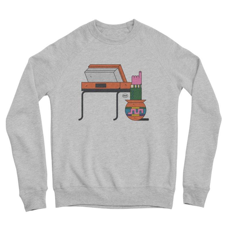Model F(inger) Women's Sponge Fleece Sweatshirt by Super Magic Friend Store