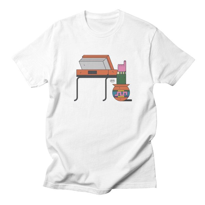 Model F(inger) Women's Regular Unisex T-Shirt by Super Magic Friend Store