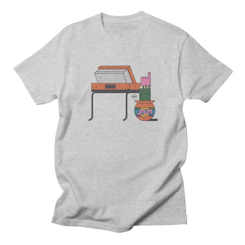 Model F(inger) Men's Regular T-Shirt by Super Magic Friend Store