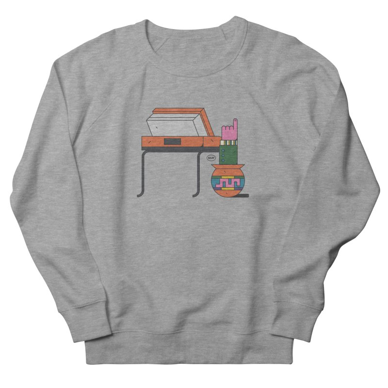 Model F(inger) Women's French Terry Sweatshirt by Super Magic Friend Store
