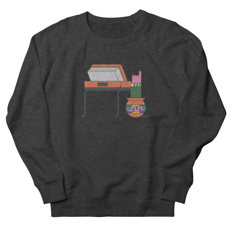 Model F(inger) Men's French Terry Sweatshirt by Super Magic Friend Store