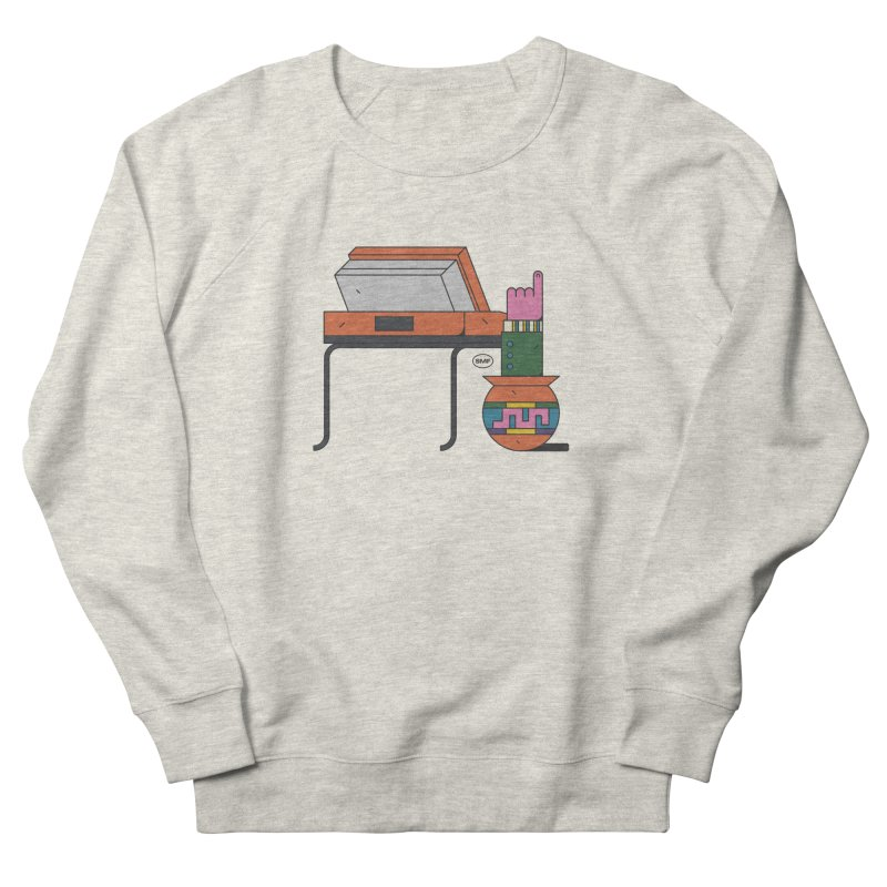 Model F(inger) Men's French Terry Sweatshirt by Super Magic Friend Store