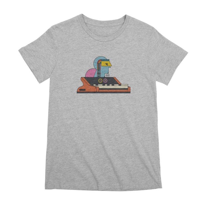 Analog Mind Women's Premium T-Shirt by Super Magic Friend Store