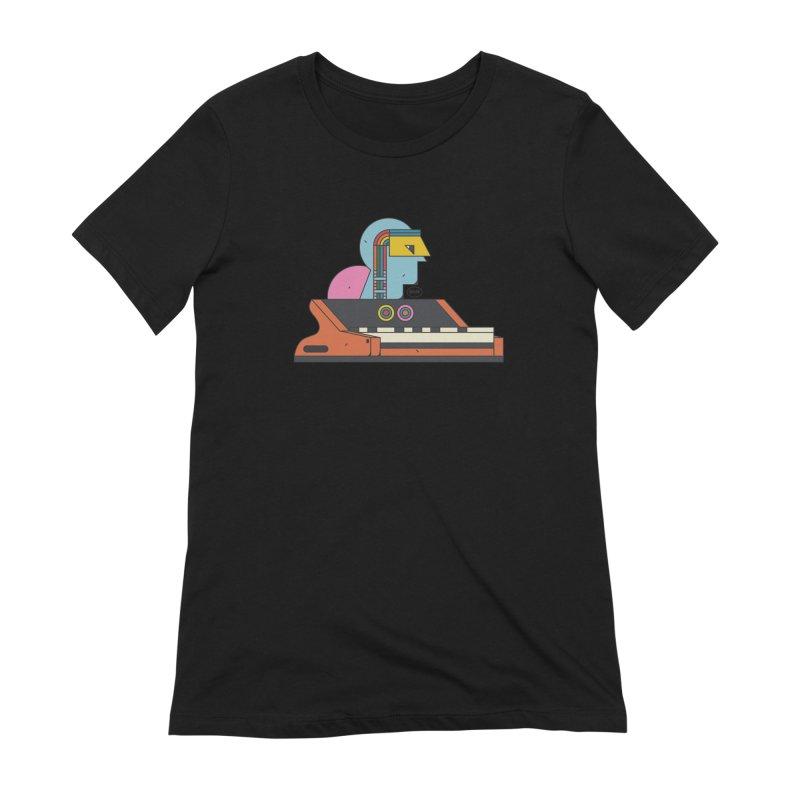 Analog Mind Women's Extra Soft T-Shirt by Super Magic Friend Store