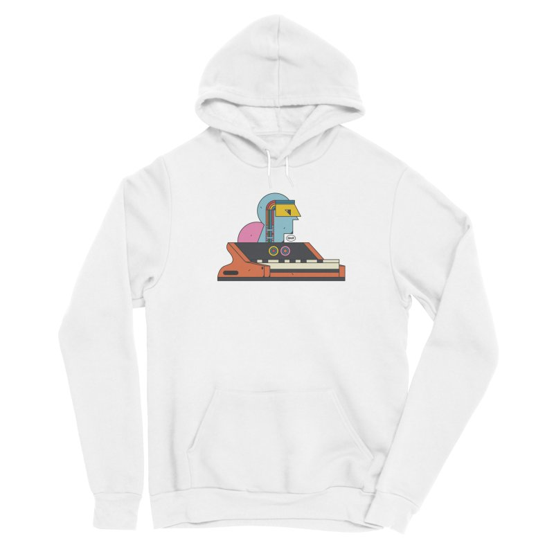 Analog Mind Men's Pullover Hoody by Super Magic Friend Store