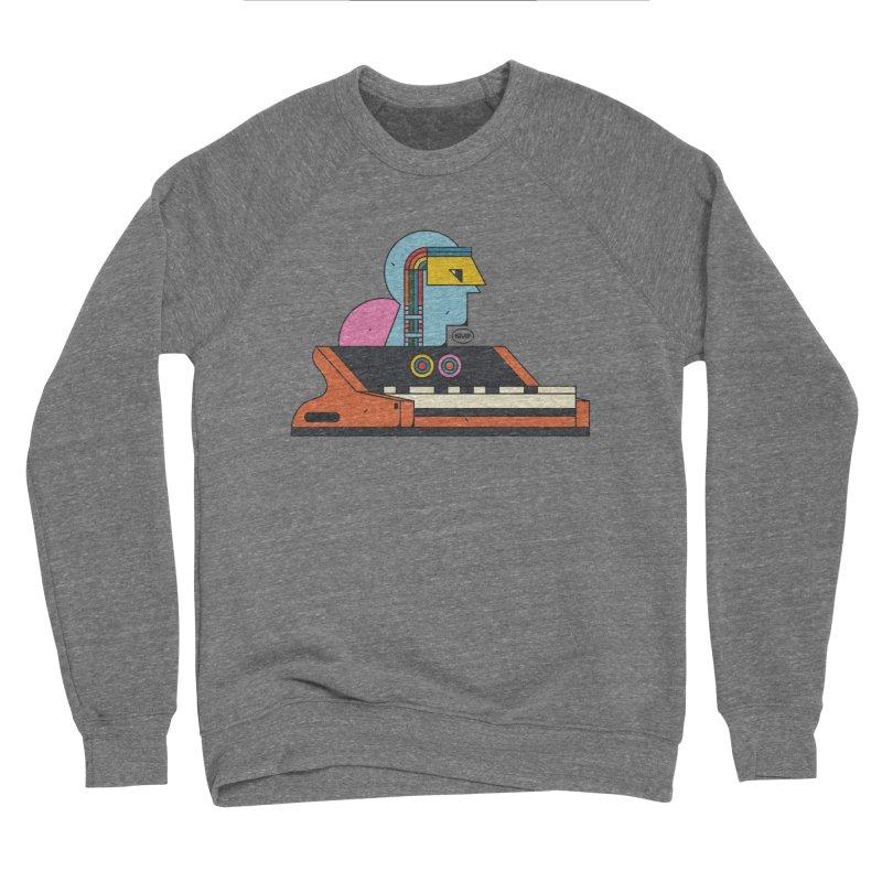 Analog Mind Men's Sponge Fleece Sweatshirt by Super Magic Friend Store