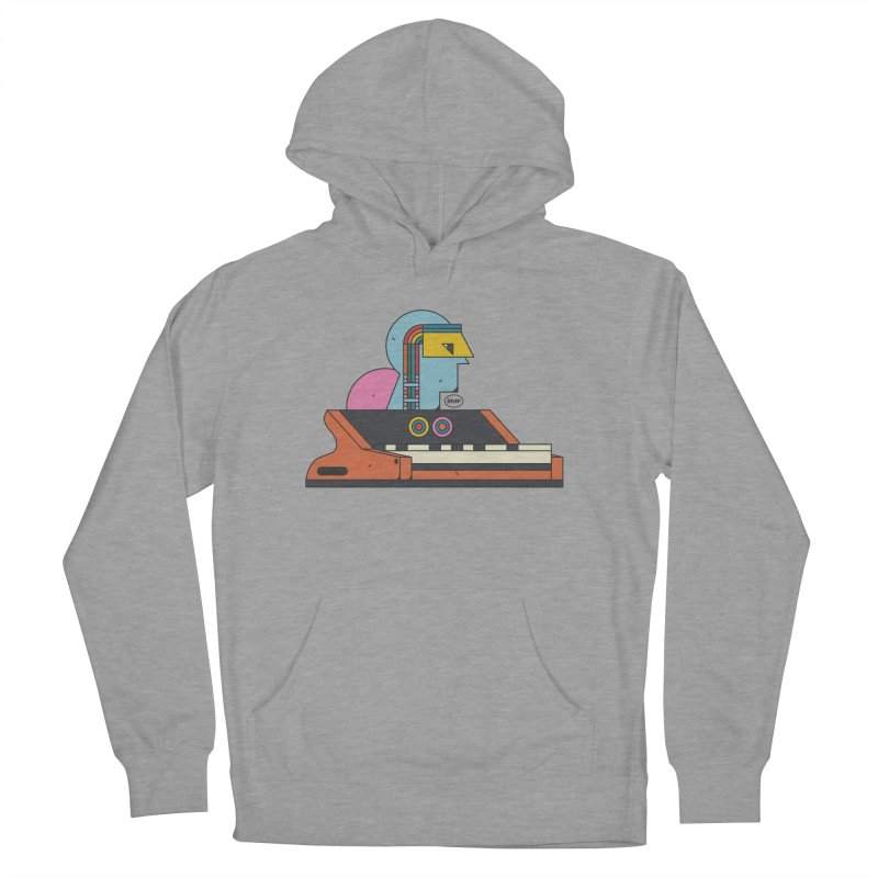 Analog Mind Men's French Terry Pullover Hoody by Super Magic Friend Store