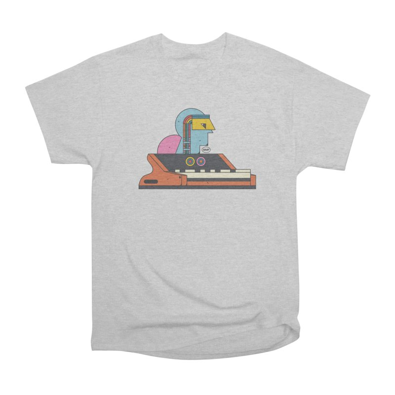 Analog Mind Women's Heavyweight Unisex T-Shirt by Super Magic Friend Store