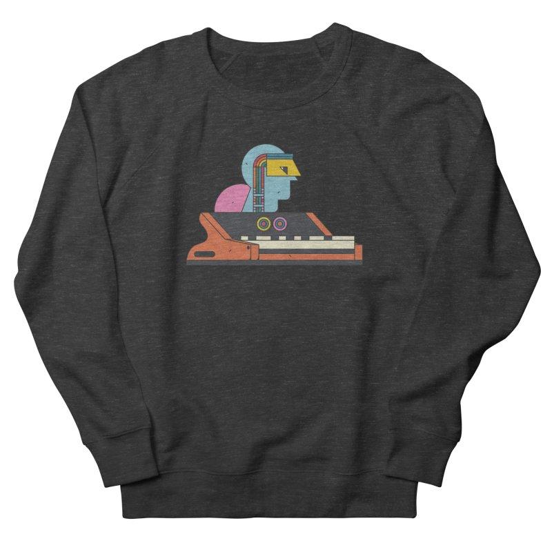 Analog Mind Women's French Terry Sweatshirt by Super Magic Friend Store