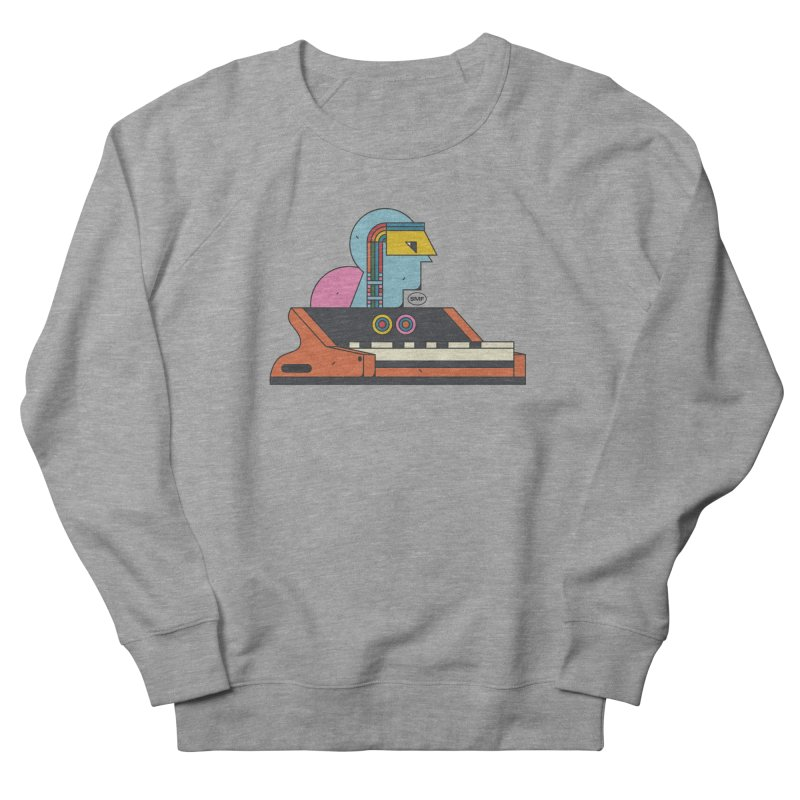 Analog Mind Men's French Terry Sweatshirt by Super Magic Friend Store