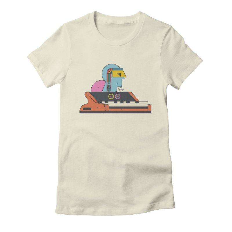 Analog Mind Women's Fitted T-Shirt by Super Magic Friend Store