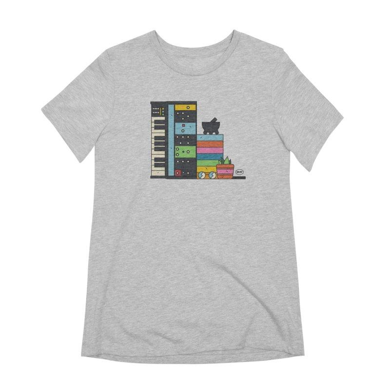 Granny Women's Extra Soft T-Shirt by Super Magic Friend Store