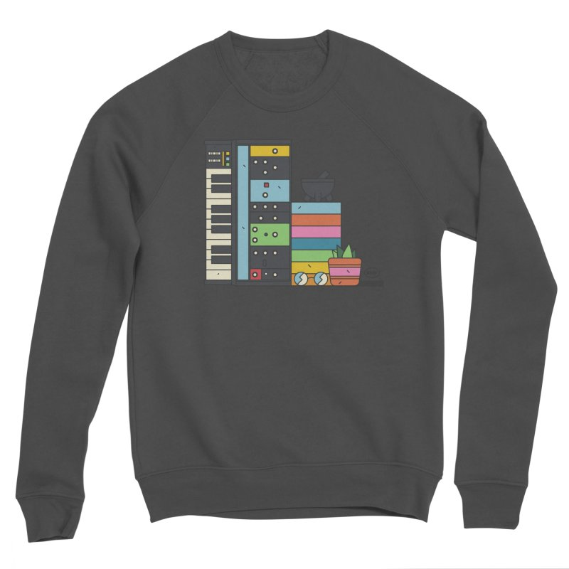 Granny Men's Sponge Fleece Sweatshirt by Super Magic Friend Store