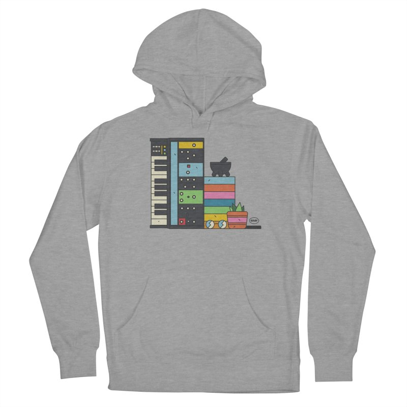 Granny Men's French Terry Pullover Hoody by Super Magic Friend Store