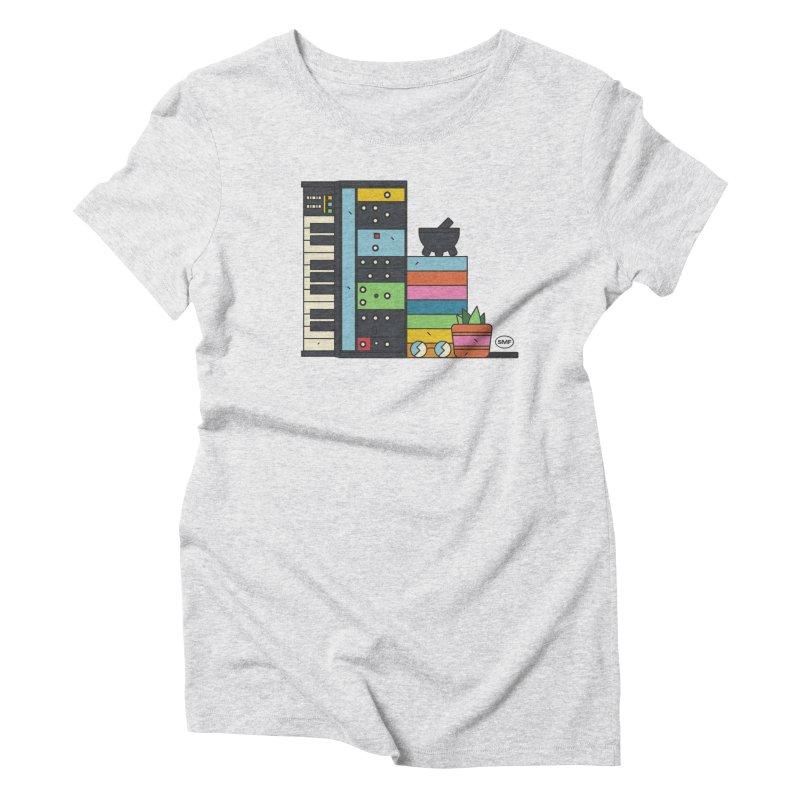 Granny Women's Triblend T-Shirt by Super Magic Friend Store