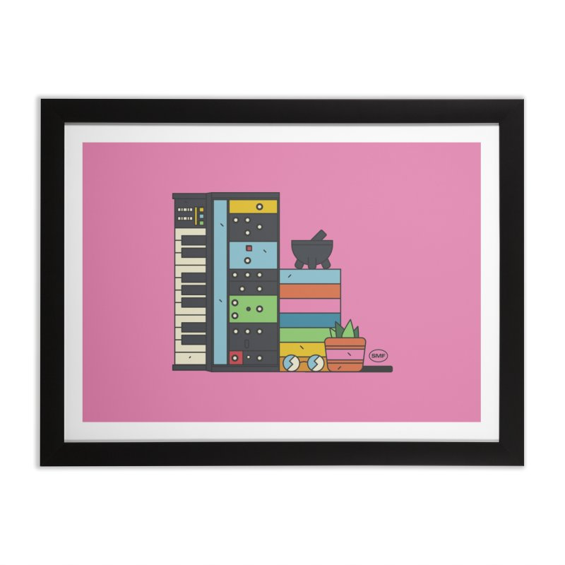 Granny Home Framed Fine Art Print by Super Magic Friend Store