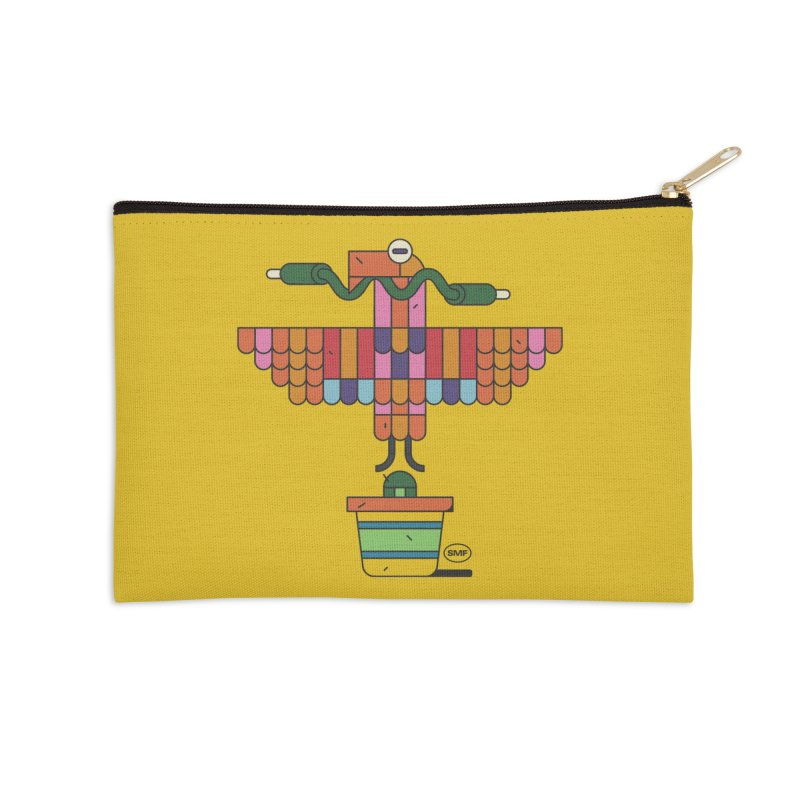 Analogtitlan Accessories Zip Pouch by Super Magic Friend Store