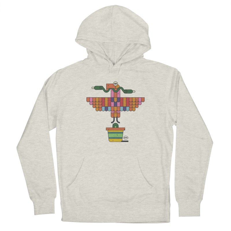 Analogtitlan Men's French Terry Pullover Hoody by Super Magic Friend Store